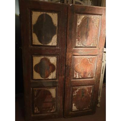 Pair Doors Seventeenth Century