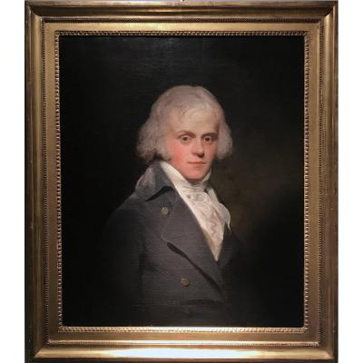 Sir Henry William Beechey (1753 - 1839) - Portrait Of A Man