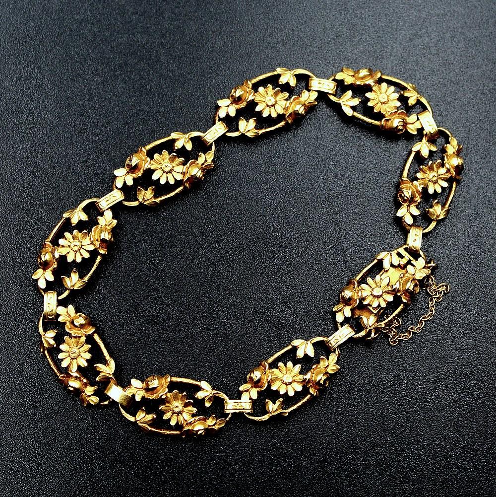 Bracelet Fleurs 1900