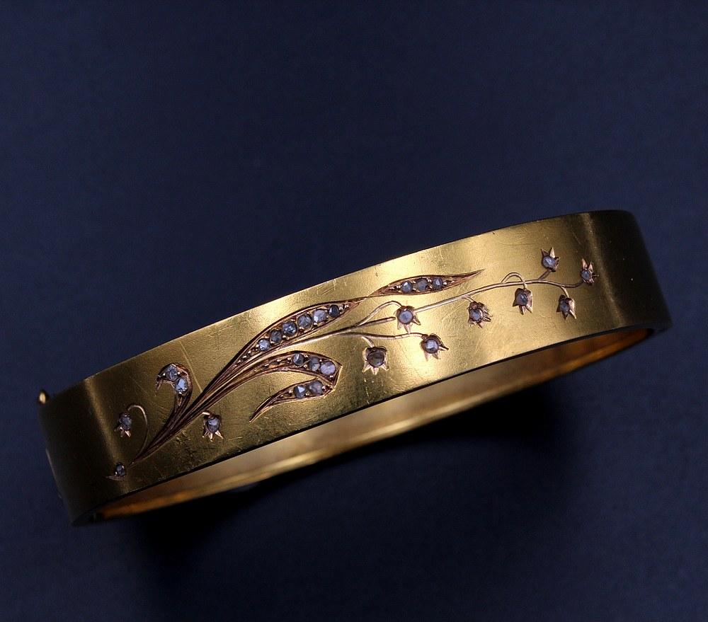 Bracelet rigide ouvrant