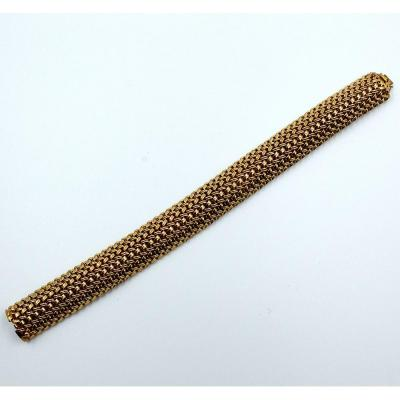 Bracelet ruban or jaune