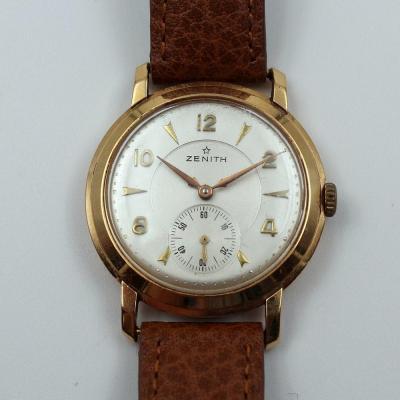 Zenith Yellow Gold Wristwatch