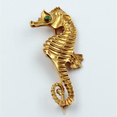 Broche hippocampe