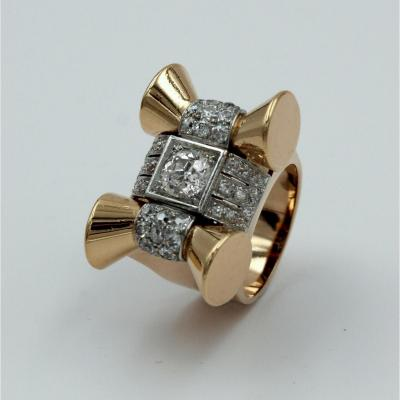 1940s Lady's Signet Ring