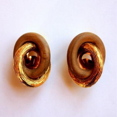 René Boivin - Pair Of Ear Clips