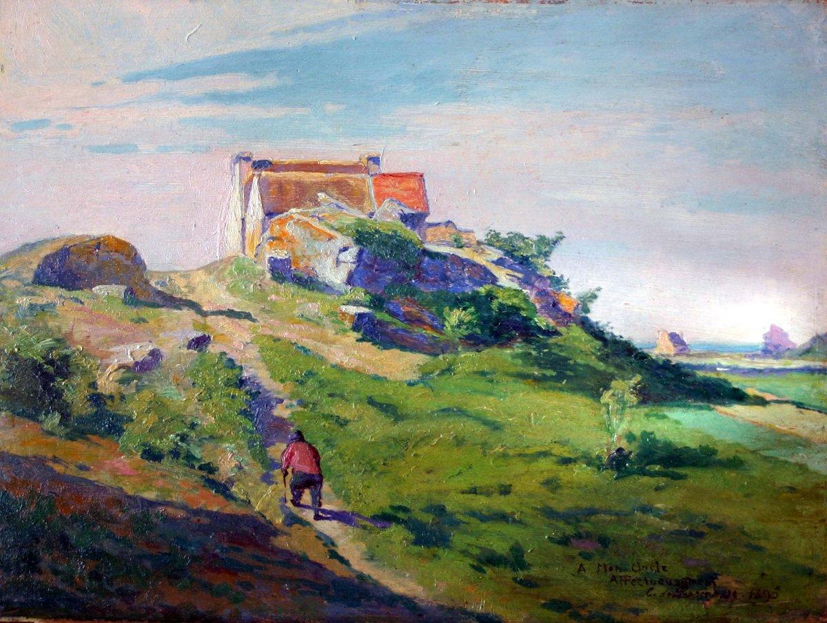 De Lespinasse, 1895, sur le chemin