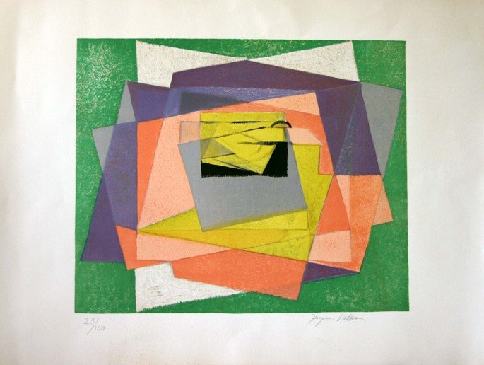 Jacques Villon, Abstract Composition