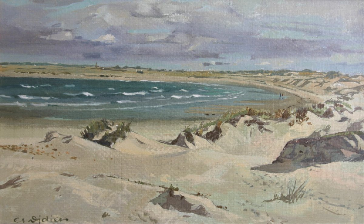 C. Didier, The Beach In Brittany