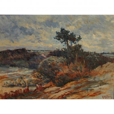 René Hardouin, La lande de Boël, Bretagne