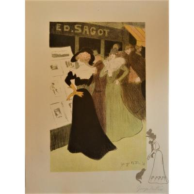 At The Printmaker Sagot, By George Bottini, 1898