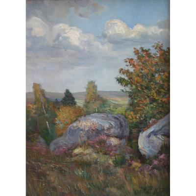 Henri Le Charles, Post-impressionnisme, 1912