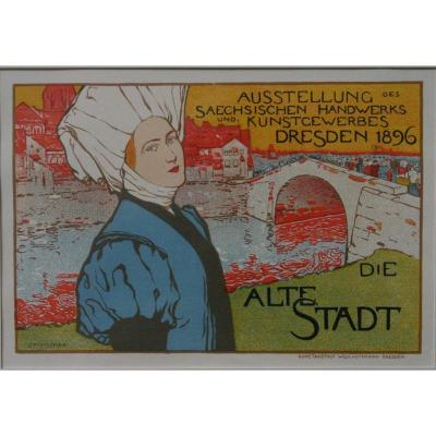 Otto Fischer, Masters Of The Poster, Dresden 1896