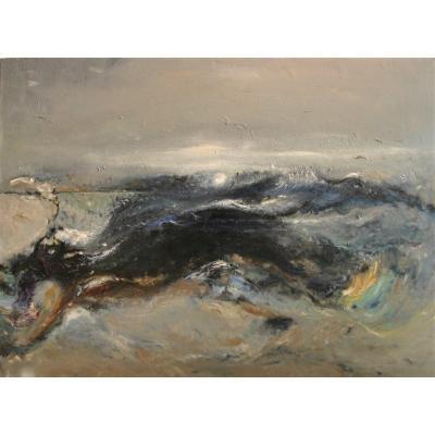 Reginald Weston, Abstract Composition, C. 1960