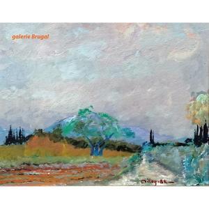 Ramon Dilley, Landscape Of Aix En Provence