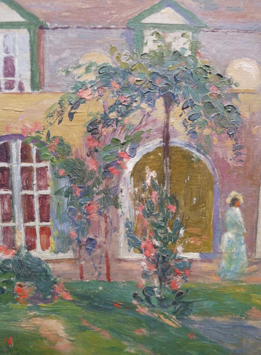 Alphonse proost 1880 1957 jardin anim tableaux paysages for Le jardin d alphonse