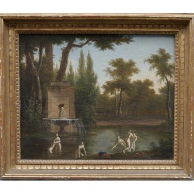 J.p. Houël, Fécit 1845 (paris)