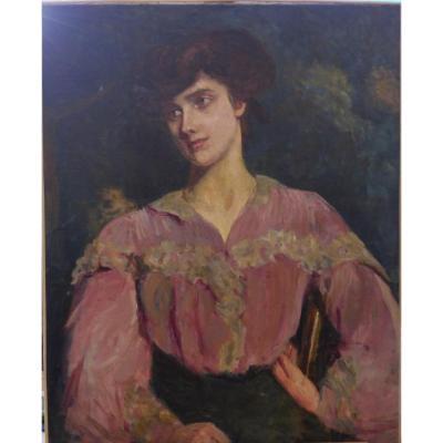 Portrait De Femme (non Signé)