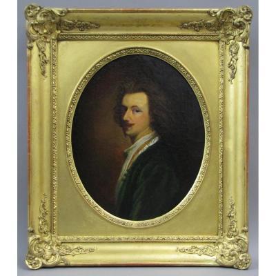 Autoportrait d'Après Van Dyck