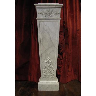 Sellette, Colonne, Gaine - Lot de 4 gaines
