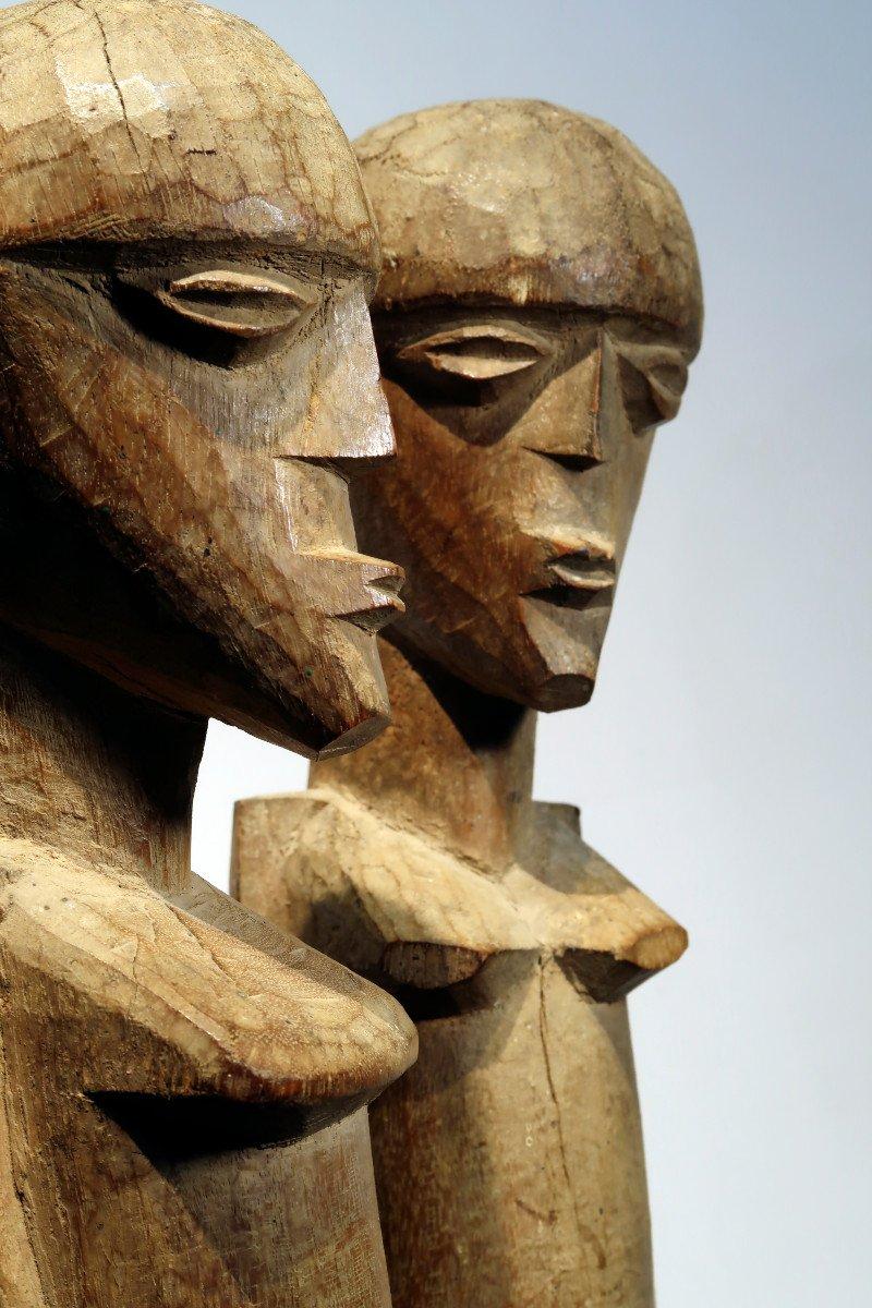Couple Of Lobi Figures. Burkina Faso