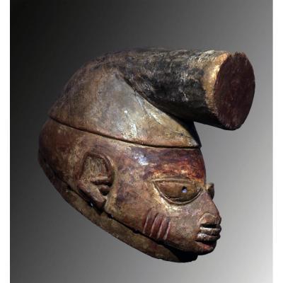 """masque casque """"gelede"""" Yorouba. Nigéria"""