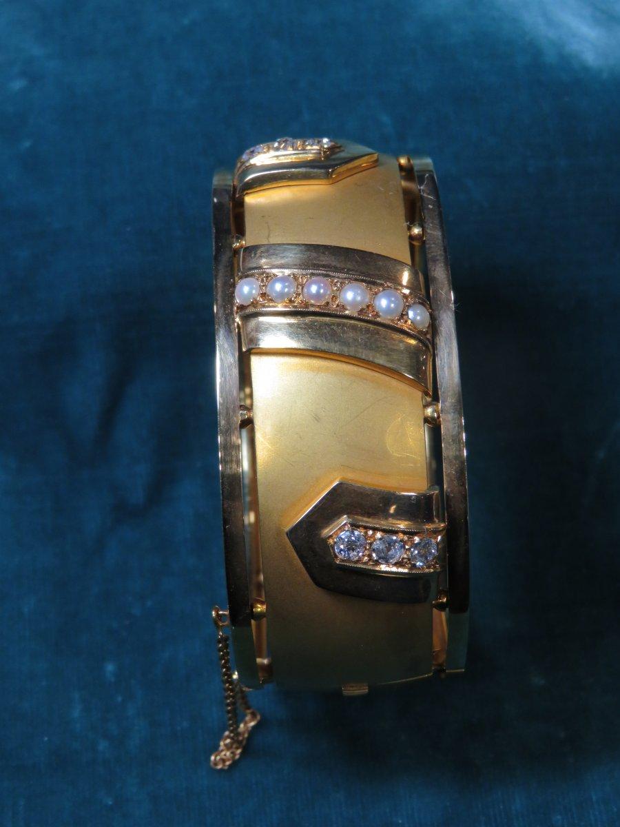 Bracelet Or Napoléon III-photo-2