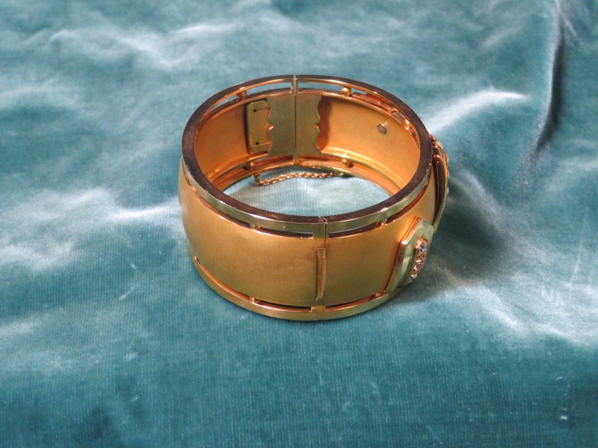 Bracelet Or Napoléon III-photo-3