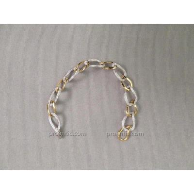 Bracelet Deux Ors Et Diamants