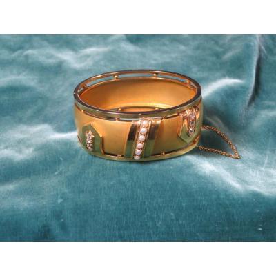 Napoleon III Gold Bracelet