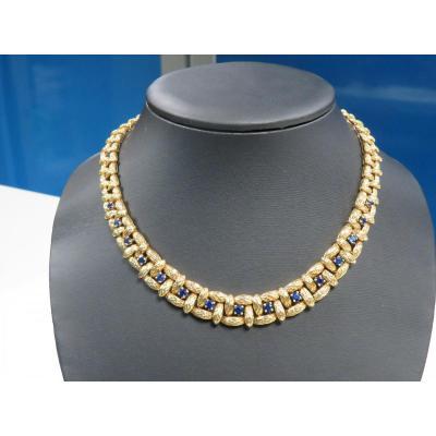 Mauboussin Sapphire Necklace