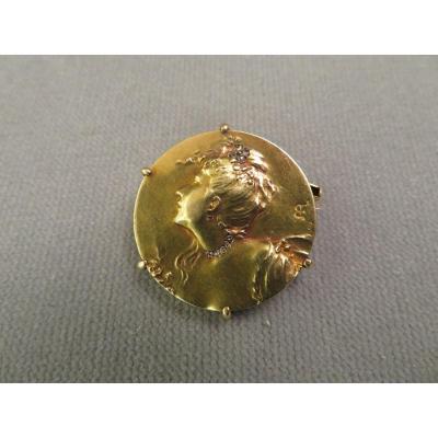 Broche Médaille