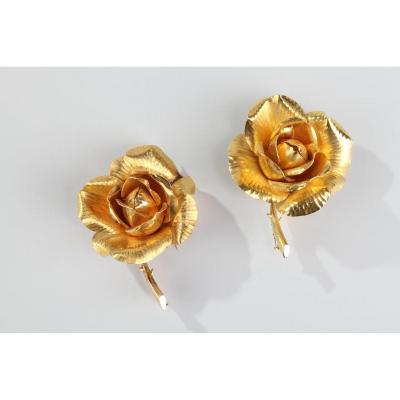 Broches Rose Hermès