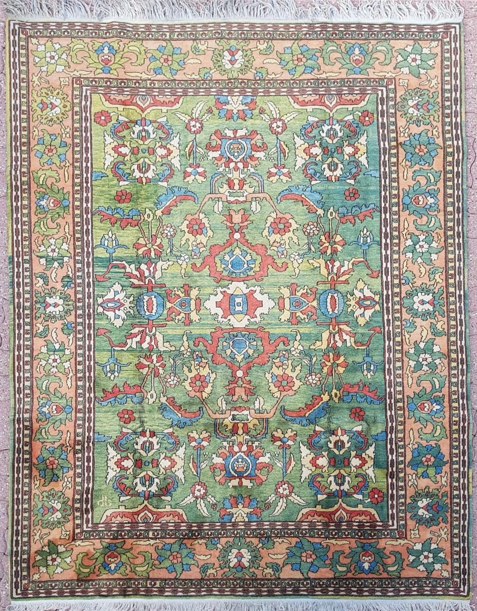 Tapis Laine Karabach Vers 1940 Russie