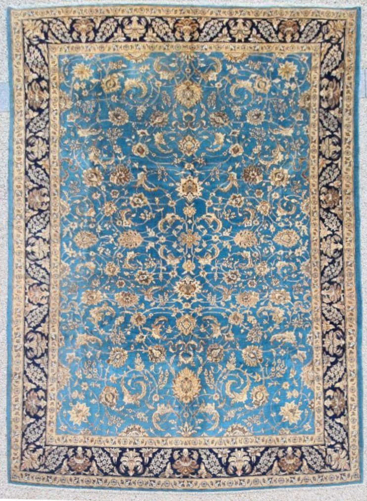 Ghoum In Kork Wool Extra Fine Quality - Period Of The Shah Around 1950