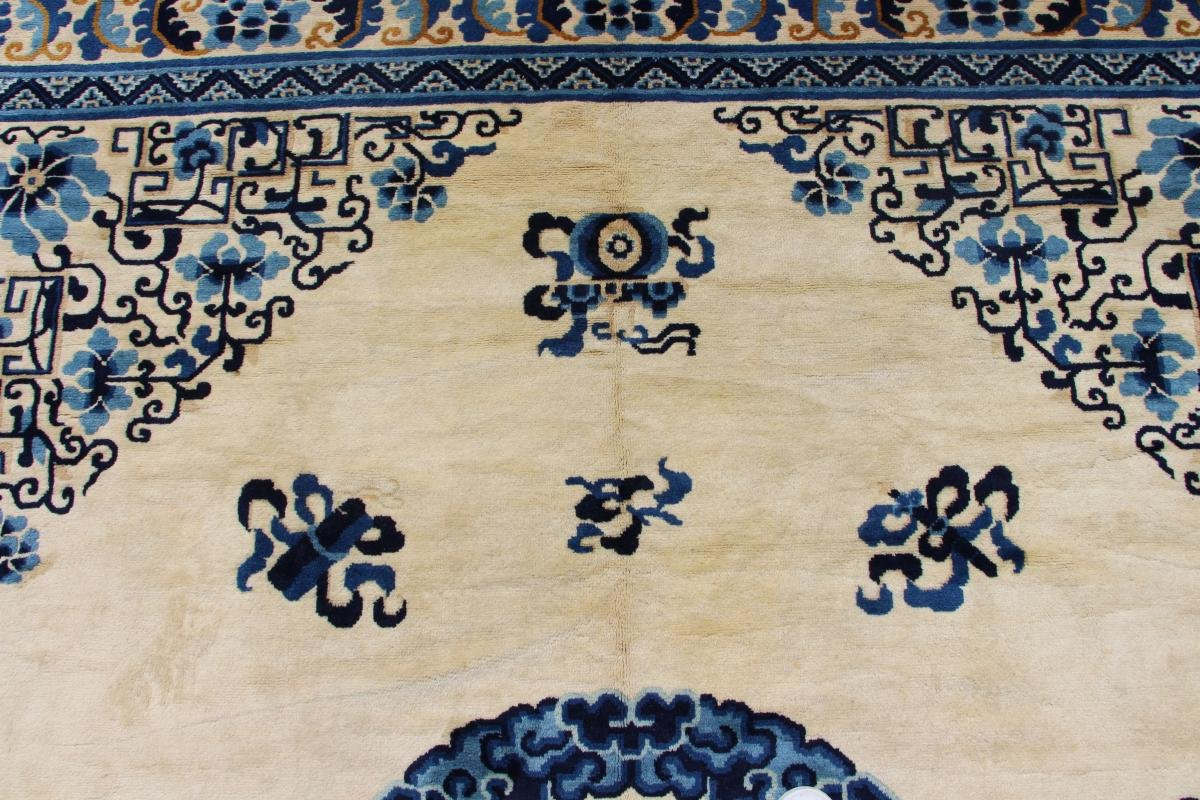 Large Size Chinese Rug Circa 1950 Extra Fine Quality - Wool - 20th-photo-3
