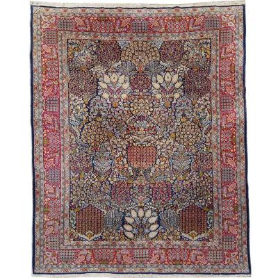 Kirman Carpet Kork Wool - Iran Circa 1930