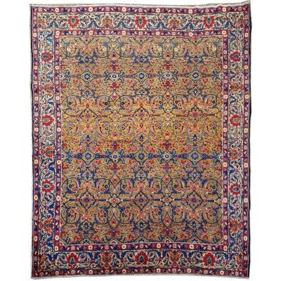 Wool Khoy Carpet - Iran Late 19th Century