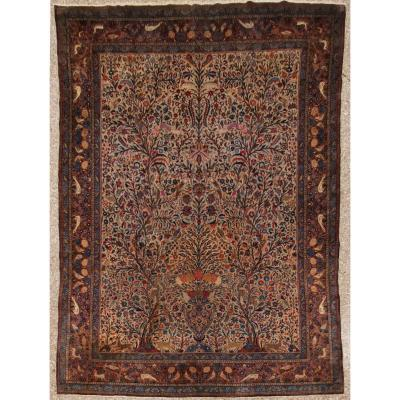 Rug Kachan Dabir  Kork Wool - Iran Late 19th