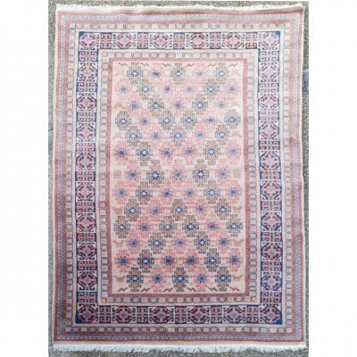 Samarcand Wool Carpet - Iran Around 1960 Shah Period