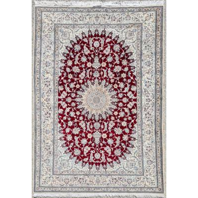 Nain Carpet Kork Wool - Iran Around 1960 Shah Period