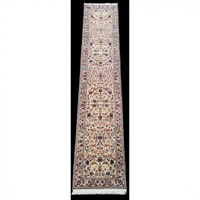 Tapis Galerie Naïn chichla extra fin  En Laine kork et soie  - Iran Vers 1970