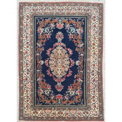 Kirman Royal Rug In Silky Kork Wool - Iran Around 1930 Shah Period