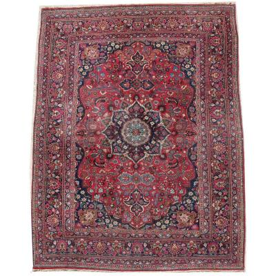 Tabriz Kork Wool - Large Size Carpet - Shah Period - Circa 1930
