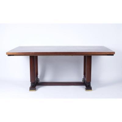 Table De Salle à Manger Dans l'Esprit De Maxime Old, France 1940/1950