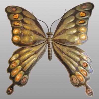 Monumental papillon lumineux de Richard Faure