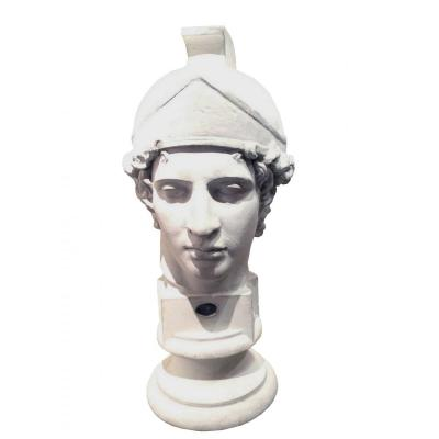 Plaster Bust Of A Roman Soldier