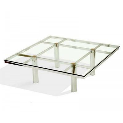 Knoll Design Tobia Scarpa Coffee Table, André Model, Circa 1970