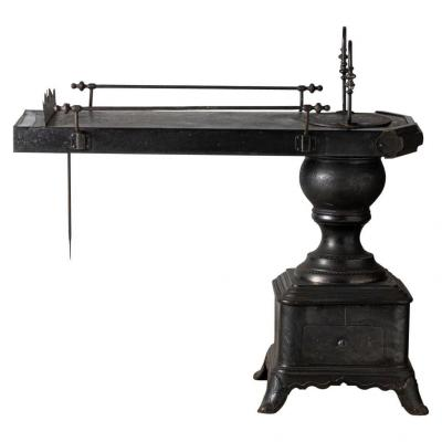 Rare Poêle De Repasseuse, France Vers 1880