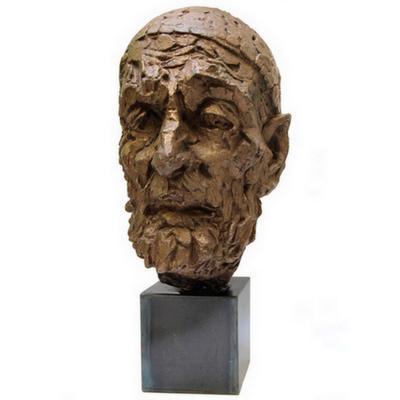 Willem Verbon. Kees Van Dongen, Ninety Years Old, First Bronze Cast.1968