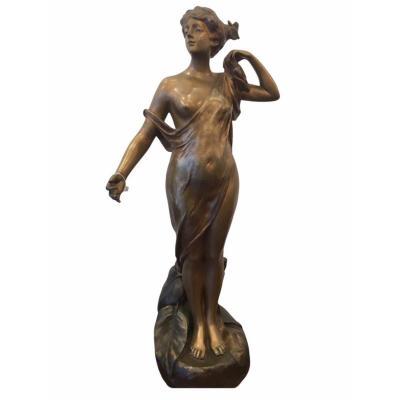 Phryné Devant Ses Juges par Pierre -Etienne -Daniel Campagne (1851- 1910)